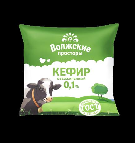 Кефир 0,1%, 500 г