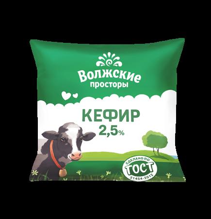Кефир 2,5%, 500 г