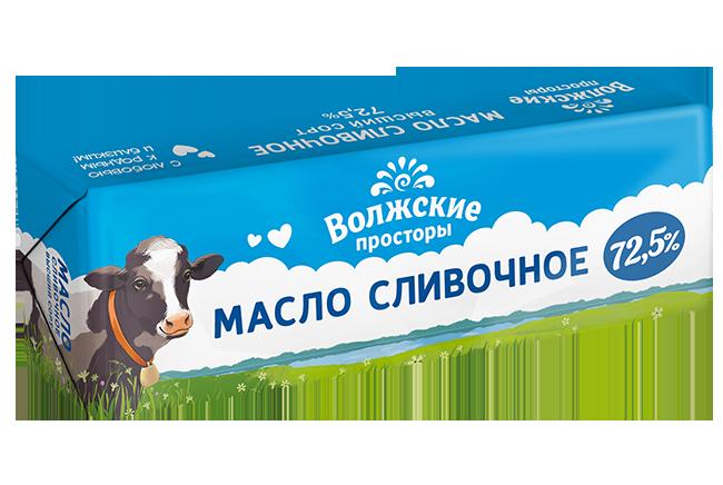 Масло сливочное 72,5%, 400г